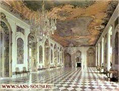 Мраморная галерея. Новый дворец. Парк Сан-Суси. Потсдам / www.sans-souci.ru