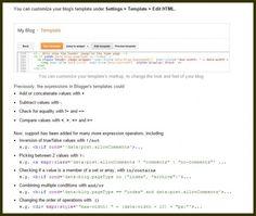 ONE: Blogger ya cuenta con funciones para personalizar plantillas