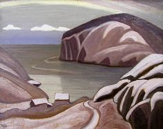 Lawren Harris, 'Port Caldwell, Lake Superior' at Mayberry Fine Art 12 x Tom Thomson, Group Of Seven Art, Group Of Seven Paintings, Emily Carr Paintings, Art Deco Paintings, Canadian Painters, Canadian Artists, Harlem Renaissance, Jackson
