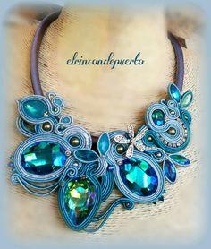 Shibori, Soutache Jewelry, Beaded Embroidery, Turquoise Bracelet, Macrame, Jewellery, Silk, Beads, Bracelets