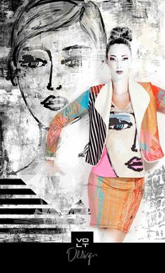 """VOLT Top """"ODE"""", Style 271 CA. Stunning piece of art white sleeveless top with pink, red and black artistic print. Vacation Outfits, Summer Outfits, Volt Design, Different Styles, Cool Style, Canada, Summer Styles, Clothes For Women, Stylish"""