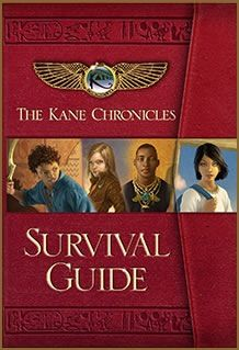 'The Kane Chronicles Survival Guide' by Rick Riordan ---- Fans of The Kane Chronicles series will adore this gorgeous primer on the people, places, gods, and creatures found in Rick Riordan's . The Kane Chronicles, Tio Rick, Uncle Rick, Good Books, Books To Read, My Books, Amazing Books, Percy Jackson's Greek Heroes, Rick Riordan Books