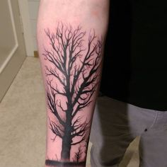 awesome 90 Significant Tree Tattoo Designs - Know Your Roots Check more at http://stylemann.com/best-tree-tattoo-designs/
