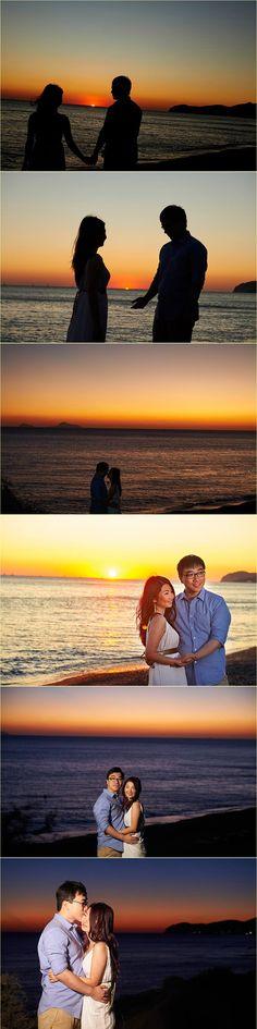 Chen Vivier honeymoon in Santorini by Giota Zoumpou PhotostudioGT Chen, Santorini, Photo Sessions, Santorini Caldera