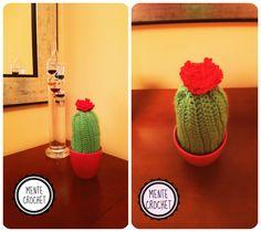 Cactus de ganchillo