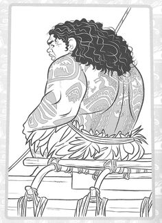 Moana Coloring Pages, Disney Coloring Sheets, Colouring Pages, Adult Coloring Pages, Coloring For Kids, Ideas, School, Paper, Drawings