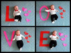 Jack's first Valentine's Day! :)
