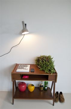Vintage lampje op Vintit