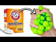 BAKING SODA STRESS BALLS | EASY DIY Squishy Toys for Kids - YouTube