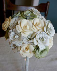 Harry Potter wedding bouquet