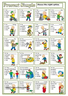 PRESENT SIMPLE | FREE ESL worksheets: