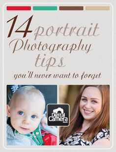 14 portrait photography tips you'll never want to forget.