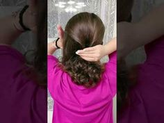 Cool Hairstyles For Girls, Hairstyles For School, Easy Hairstyles, Girl Hairstyles, Wedding Guest Hairstyles, Short Hair Styles Easy, Prom Dresses, Formal Dresses, Simple Style