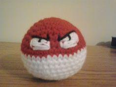 Crochet Fanatic: #100=VOLTORB