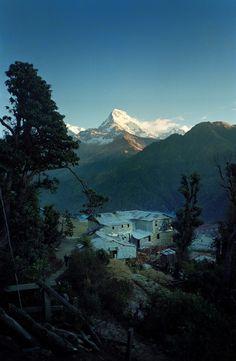 **Nepal, Annapurna House, 1995 (by Jim Keen)