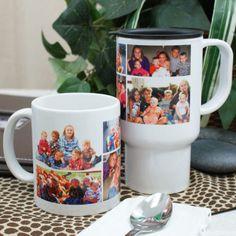 Personalized Collage Photo Mug