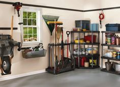 <p> The garage is one of the most cluttered spaces in the whole house. Too often it becomes a dumping ground for sports equipment, lawn tools, off-season decorations, and workshop tools that somehow never get put back properly. Luckily, an entire subset of the organization business is set up to help you find great ideas for your garage storage problems. </p> <br> <p> A few best practices will help you bring calm to the chaos. Many items stored in the garage are se...