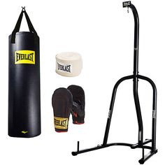 Everlast Single-Station Heavy Bag Stand and 100lb Heavy Bag Kit Value Bundle Review