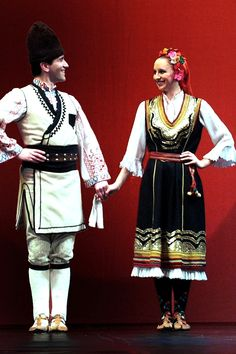 Traditional Bulgarian Costume