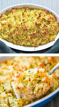 Chicken Dinner Party Recipes, Vegetarian Recipes Dinner, Baked Chicken Recipes, Twice Baked Potatoes Casserole, Cheesy Potatoes, Mashed Potatoes, Tasty Videos, Food Videos, Easy Healthy Recipes