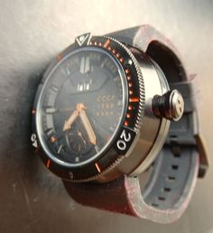 Akula Kashalot CCCP 1980 U-Boat Diver's Ref. CP-7006-03 – men's wrist watch - unworn