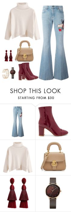 """""""Cool"""" by fatyespinosa1 ❤ liked on Polyvore featuring Gucci, Polly Plume, Burberry and Oscar de la Renta"""