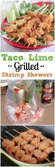 Taco Lime Grilled Shrimp Skewers from is a Simple and tasty recipe… Grilling Recipes, Fish Recipes, Seafood Recipes, Mexican Food Recipes, Cooking Recipes, Healthy Recipes, Delicious Recipes, Fennel Recipes, Gastronomia