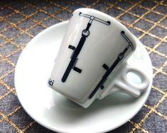 Espresso, Mugs, Tableware, Italia, Espresso Coffee, Dinnerware, Tumblers, Tablewares, Mug