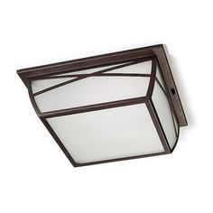 Alba Outdoor Flush Ceiling Light - LEDS-C4 15-9350-18-AA - Netlighting Ltd