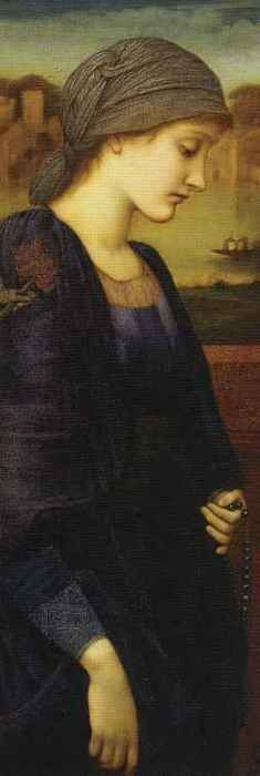 Edward Burne-Jones - Flamma Vestalis