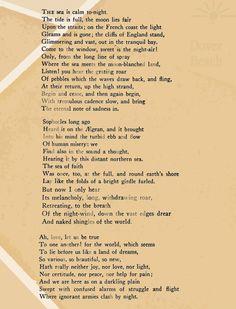 dover beach poem quotes