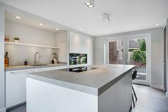Kitchen Cabinet Design, Modern Kitchen Design, Kitchen Decor, Dark Grey Kitchen Cabinets, Shiplap Bathroom, Kitchen Flooring, New Homes, House, Photography Gifts