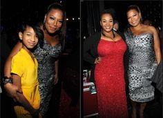 Queen Latifah, Willow Smith and Jill Scott  BET Honors 2012