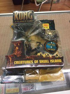 Awesome Toys, Cool Toys, Godzilla Toys, Wrangler Shirts, Skull Island, King Kong, Cool Cartoons, Sharks, Vintage Toys