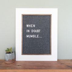 Vermillion Drive - Handmade letter boards