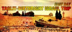1st East Bay Birthright Bus Leaves July 8th for the homeland!