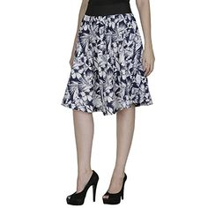 SMART AND GLAM; A-LINE WOMEN'S SKIRT; White; Floral; S Sm... http://www.amazon.in/dp/B01IK6KSES/ref=cm_sw_r_pi_dp_zIHJxb1VFEYV4