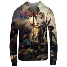 Cat+Revolution+hoodie+van+Mr.Gugu+&+Miss+Go+op+DaWanda.com