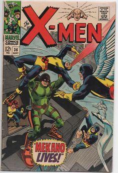 Uncanny X-Men 36 1963 1st Series September 1967 Marvel