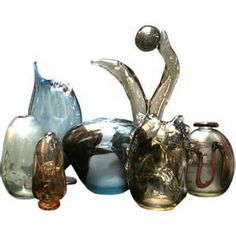 Collection of Robert C. Fritz glass