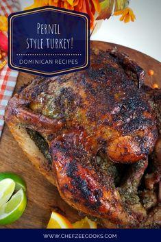 Pernil Style Turkey | Pavo Dominicano - Chef Zee Cooks