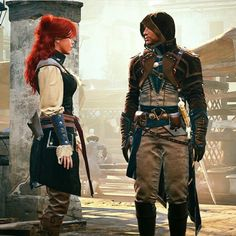 Arno and Elise mcfarlane outfit