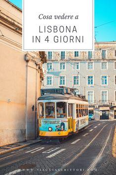 #Lisbona è una città esuberante in cui caos e poesia si fondono. È una Babilonia di contrasti tra vecchio e nuovo, azulejos colorati, tram sferraglianti, panni stesi fuori ad asciugare. Cosa vedere in quattro giorni a Lisbona? Scoprilo nella nostra #guida. #Portogallo #Portugal #Lisbon #Lisboa #viaggio #viaggi #viaggiare #ravel #blog #guida Travel List, Travel Guides, Travel Bugs, Travel Abroad, Culture Travel, European Travel, Wonders Of The World, Family Travel, Places To See