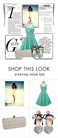 """""""Simple-dress 16"""" by ell-1997 ❤ liked on Polyvore featuring Folio, J.Crew and vintage"""