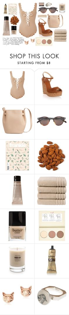"""""""Wounds remain"""" by braincontortion ❤ liked on Polyvore featuring Marysia Swim, Jimmy Choo, CÉLINE, Grown Alchemist, French Connection, Christy, Butter London, NARS Cosmetics, River Island and Baxter of California"""