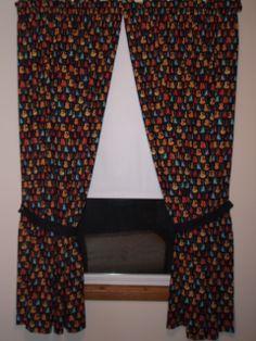 Guitar curtains
