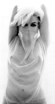 Marilyn Monroe photographed by Bert Stern, June 1962