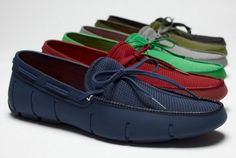 SWIMS Lace-Up Loafers