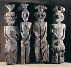 Chemamull / hombres de madera / men of wood