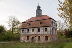 Rittergut Gaschwitz in Sachsen.